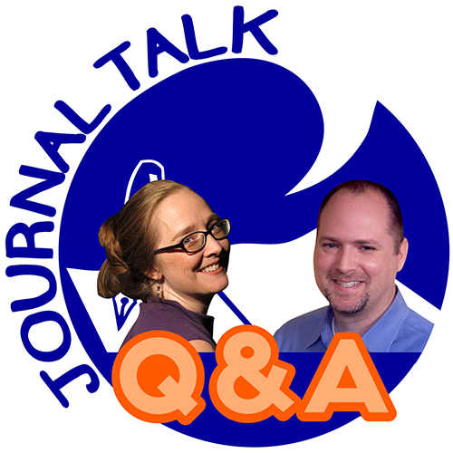 Journal Talk Podcast Q&A. Heather Severson and Nathan Ohren.